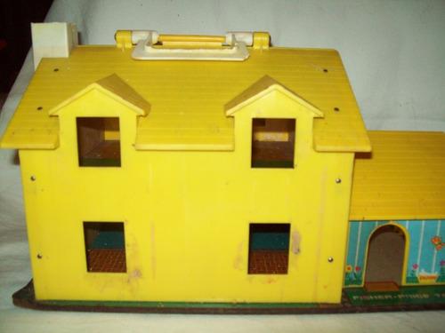 casita family house fisher price vintage