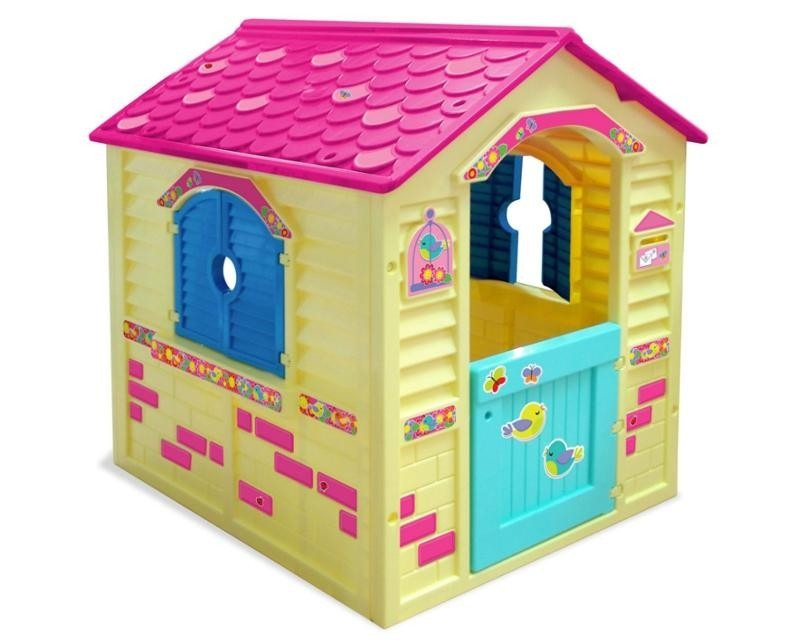 Casita infantil de juegos para ni as nueva original for Casitas de jardin de plastico