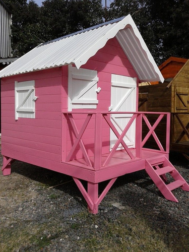 casita infantil de madera 1/2 punto maderera magali