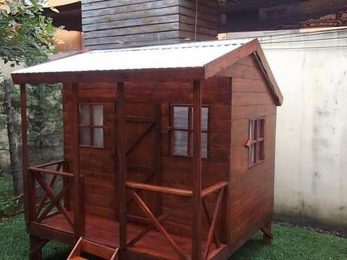 casita infantil de madera  (maderera magali)