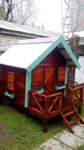 casita infantil modelo cuadrada