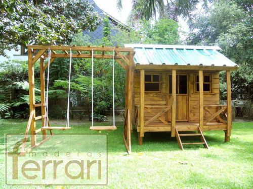 casita infantil ref int 2x2 pared 3/4 m5 maderas ferrari!!
