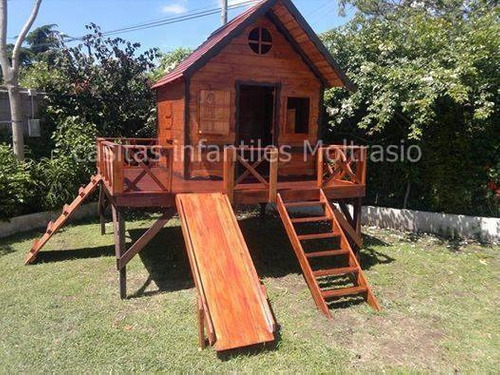 casita maximo de madera - ideal para patio o jardines