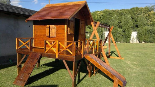 casita maximo de madera - ideal para patio o jardines