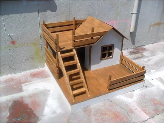 Casita para perro bk chica 1 en mercado libre - Como hacer una casita para perros ...