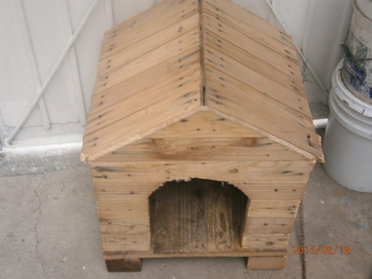 Casita para perro de madera en mercado libre - Casas para gatos de madera ...