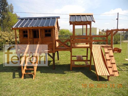casita reforzada j1 casita maderas ferrari con mangrullo!!!!