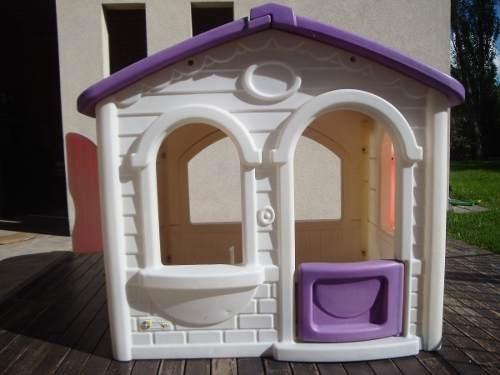 casita soleada nueva rotoys techo verde o violeta