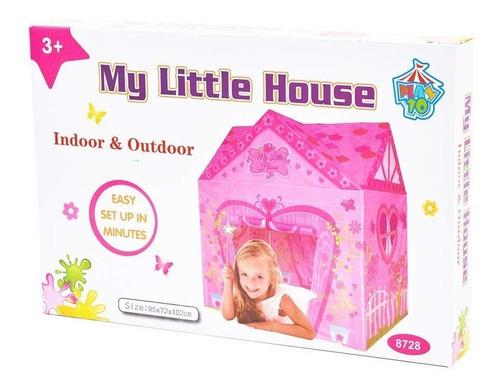 casita tienda de campaña castillo niñas juego