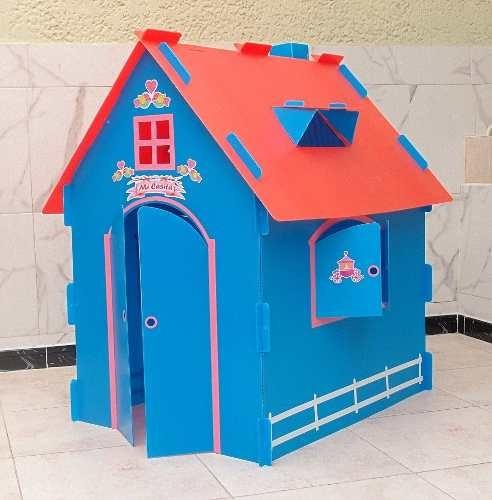Casitas Castillo Munecas Casa Juegos Infantiles Jardin 199900 - Casa-de-juegos-infantiles