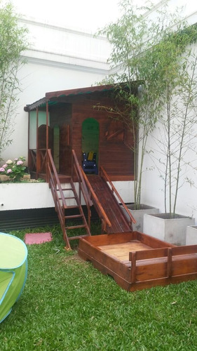 casitas de madera infantil