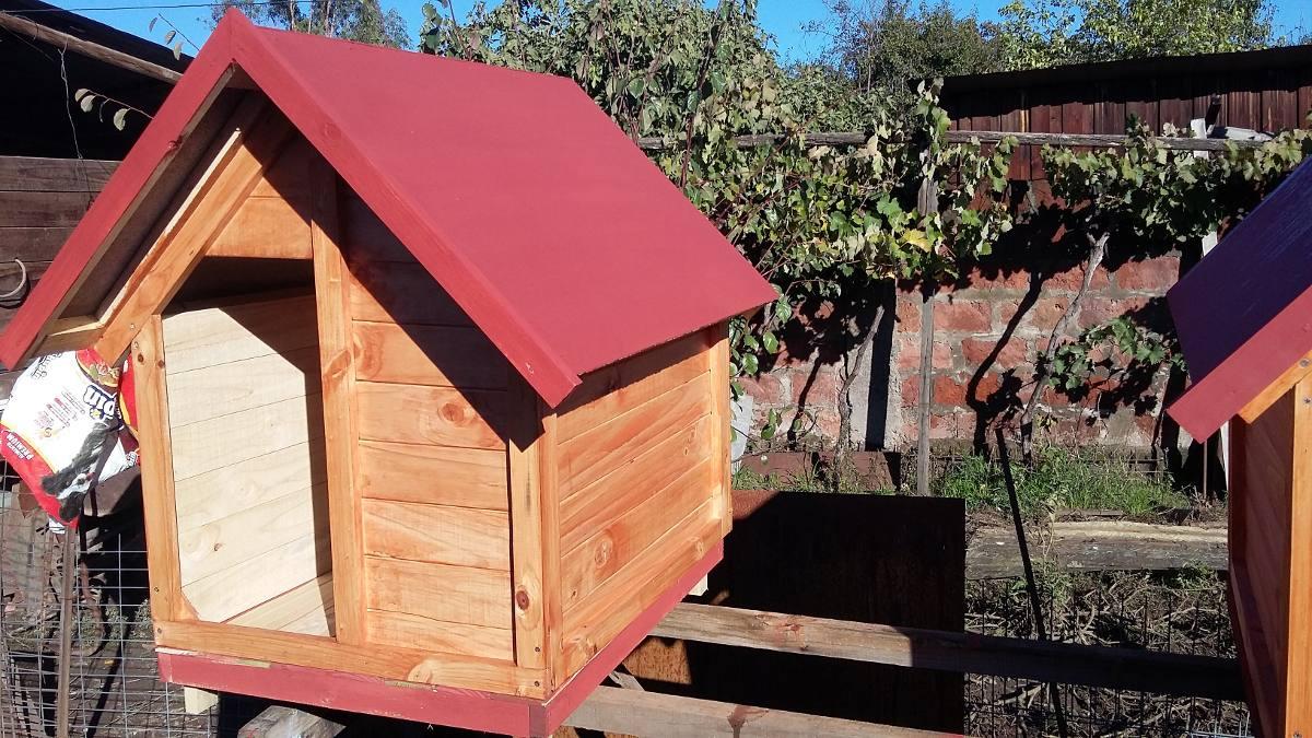 Casitas de madera para perros mediano grandes golden - Casitas de maderas ...