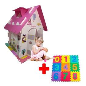 Casitas Infantiles  Casa De Juguetes + Tapete  Foamy