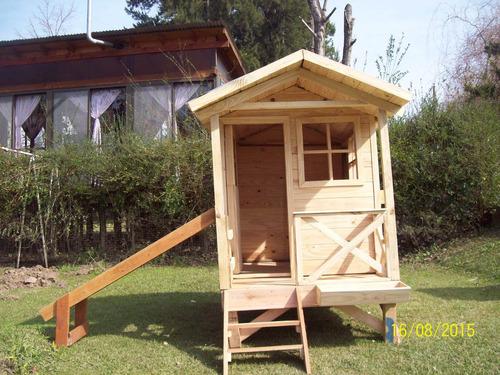 casitas infantiles de madera tipo cabaña de 1,20x2,40