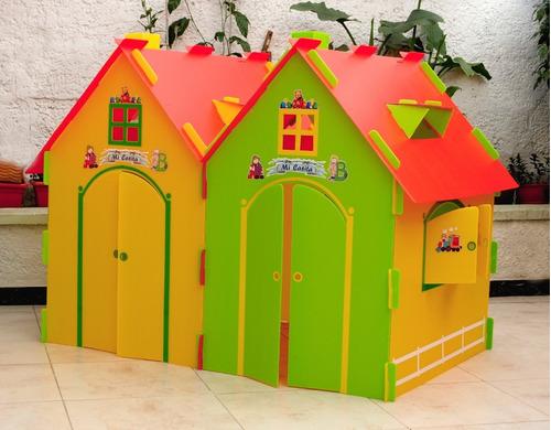 casitas infantiles gemelas de juegos casas muñecas princesas