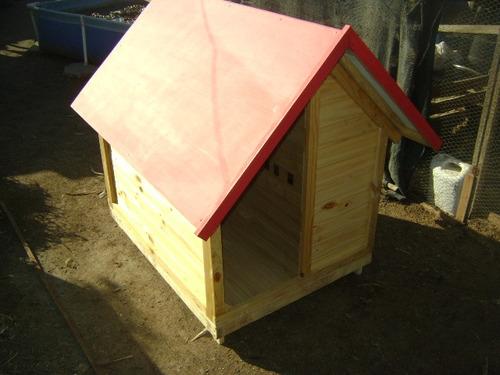 casitas para perros  tipo pastor  aleman   (macho)