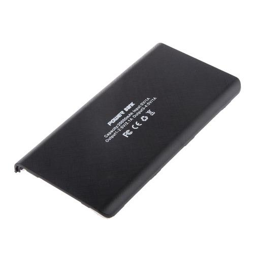 caso banco de potencia 18650 batería de linterna cargador p