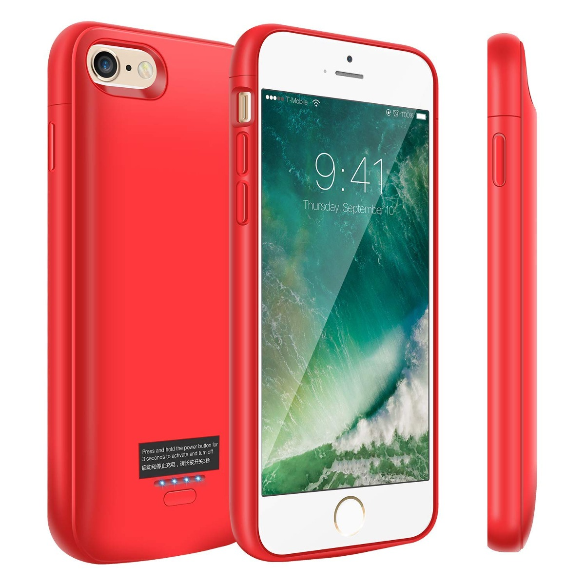bb996c1e767 caso batería para iphone 6 / 6s, caso cargador portátil 40. Cargando zoom.