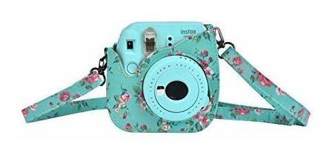 caso cámara compatible para fujifilm instax mini 8 8+ mini m