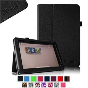 caso fintie slim fit folio de barnes & noble nook tablet hd