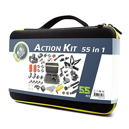 caso kit para gopro hero dekasi accesorios 5/4/3 / sj4000 /