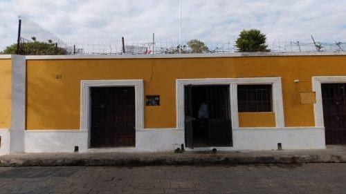 casona colonial  en el centro de izamal