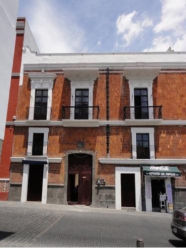 casona sxvii - sxviii en el centro histórico de puebla capital pue