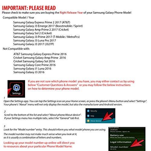 Casos Básicos,para Samsung Galaxy J3 Primero Amp Prime