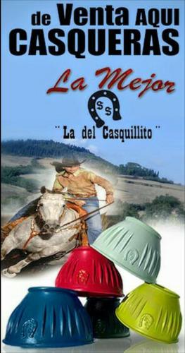 casqueras para caballos de goma