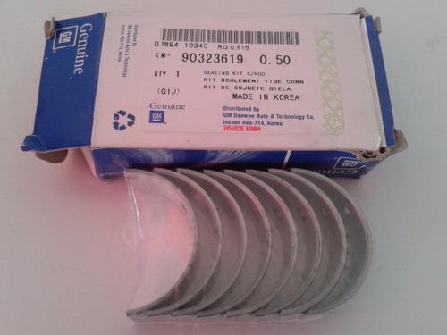 casquetes biela 0.20 astra 1.8 original gm