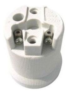 casquillo de cerámica (portalámparas, rosca e-40 goliat)