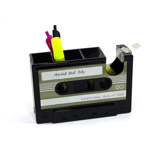 casset porta cinta y esferos decorativo