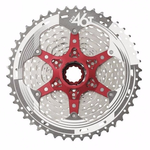 cassete catraca bicicleta sunrace 11v mx8 11/46d  12x