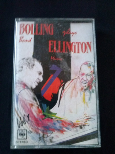 cassete claude bolling plays ellington vol 1