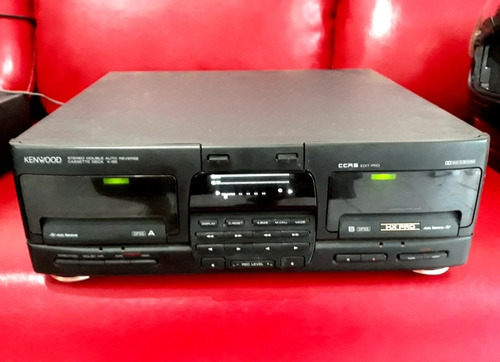 cassete deck kenwood x-85 double reverse stereo