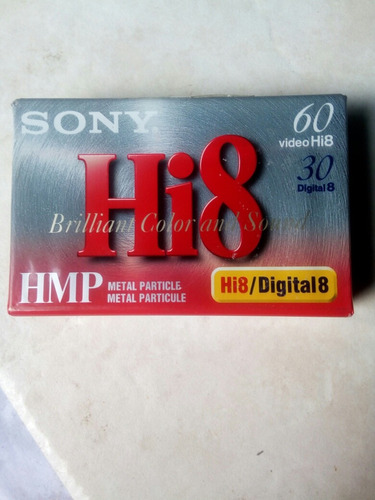 cassete digital hmp hi8 para video camara sony