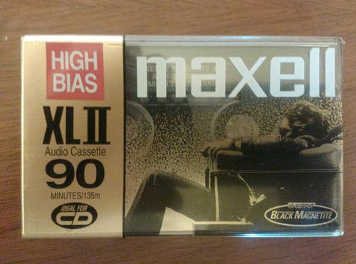 cassete maxell 90 min.