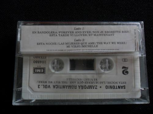 cassete santonio zampoña romantica vol 3