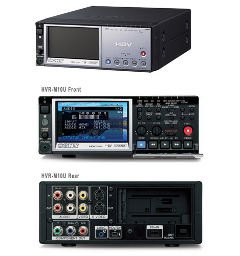 cassetera hdv/dvcam/dv sony grabadora player