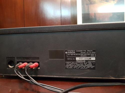 cassetera stereo hitachi d230