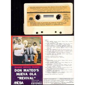 Cassette - Don Mateo's Nueva Ola  Revival - De Coleccion -