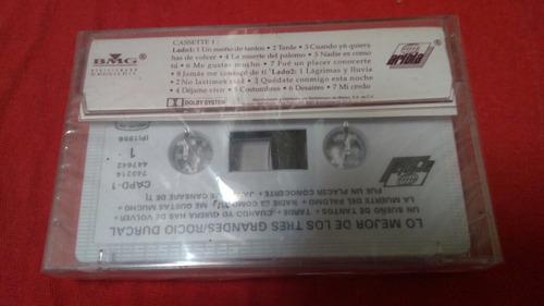 cassette (1) rocío dúrcal lo mejor de lo tres grandes nuevo