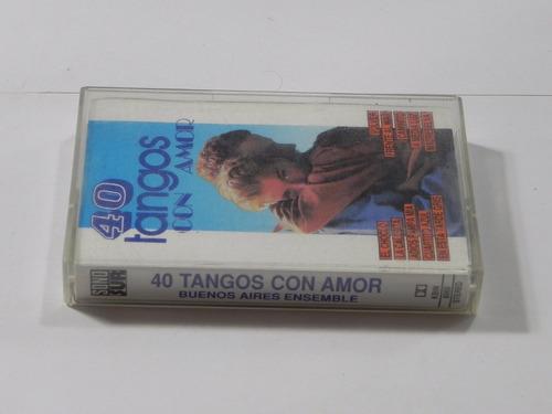 cassette 40 tangos con amor buenos aires ensemble