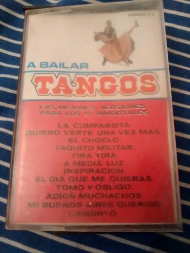 cassette a bailar tango (c459