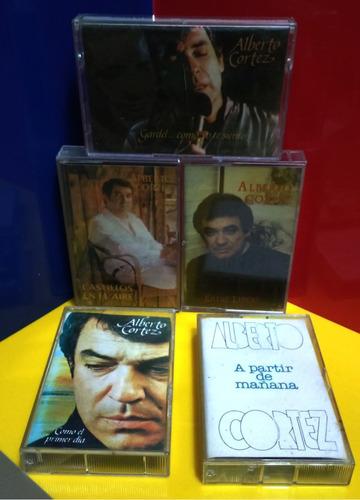 cassette alberto cortez - castillos en el aire (1980)