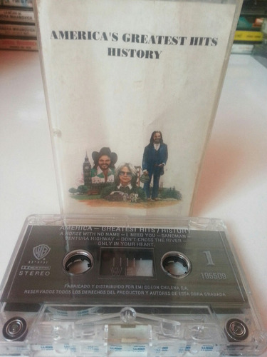 cassette america's greatest hits history