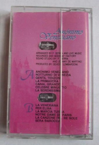 cassette anónimo veneziano