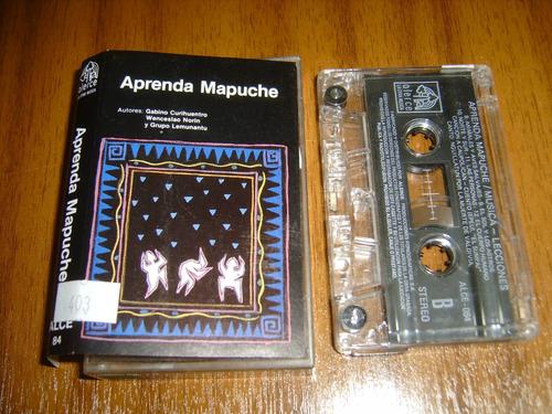 cassette aprenda mapuche (nuevo)