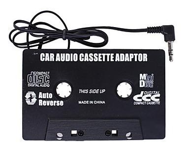 cassette audio adaptador/carro, nuevo mp3