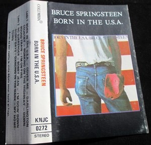 cassette bruce springsteen,  born in the usa